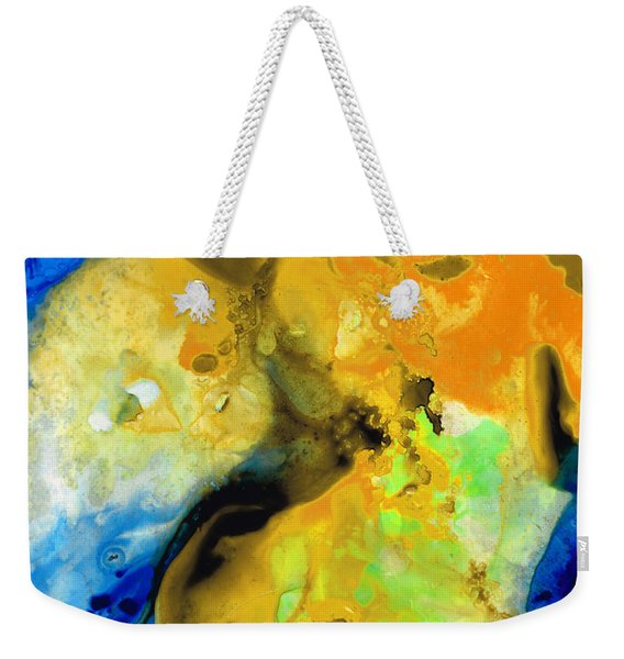 Walking On Sunshine - Abstract Painting By Sharon Cummings Weekender Tote Bag