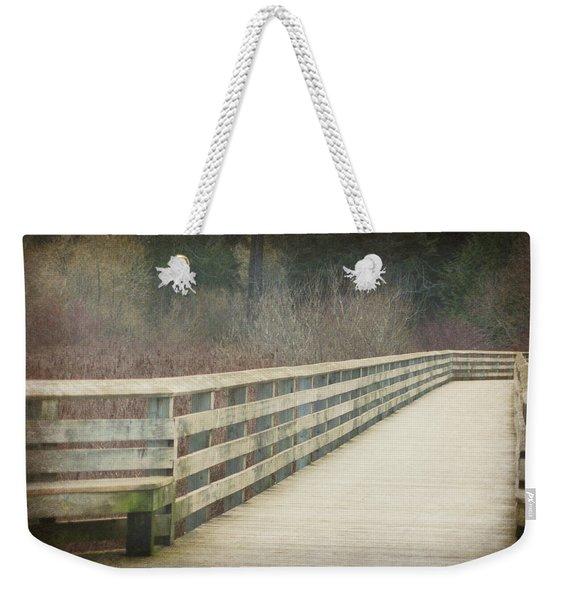 Walking Softly Weekender Tote Bag