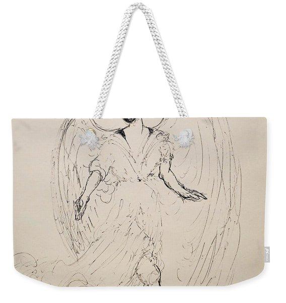 Walking With An Angel Weekender Tote Bag