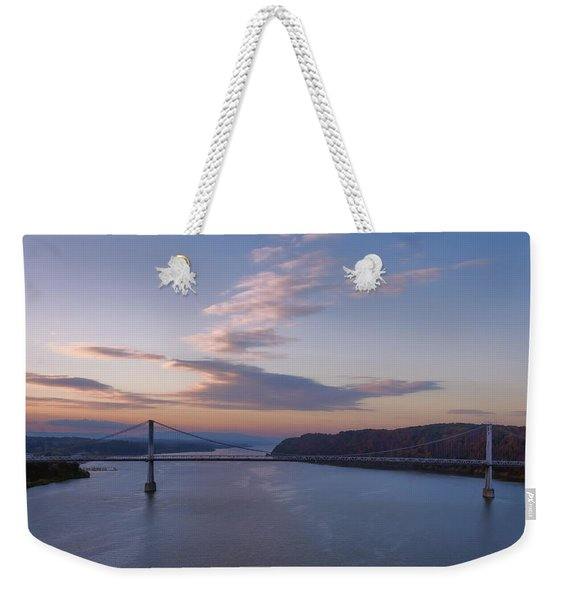 Walkway Over The Hudson Dawn Weekender Tote Bag