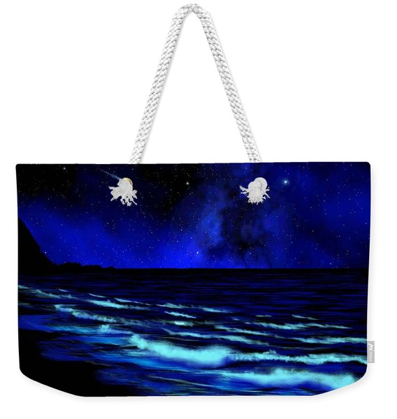 Wall Mural Bali Hai Tunnels Beach Kauai Weekender Tote Bag