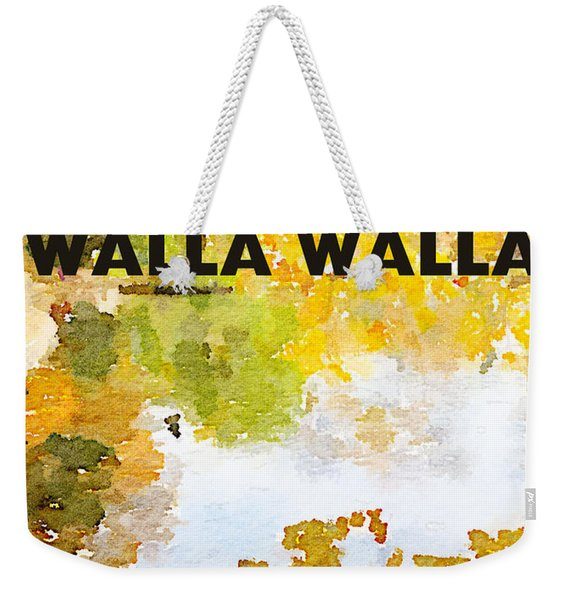 Walla Walla Weekender Tote Bag