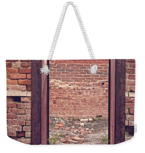 Walled In Weekender Tote Bag