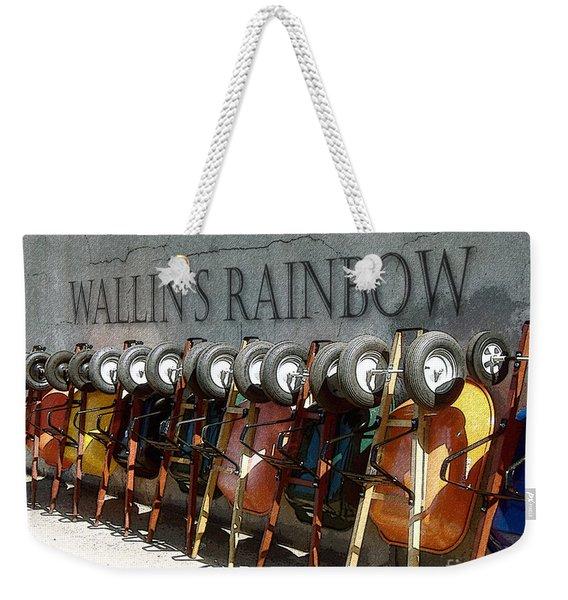 Wallin's Rainbow Weekender Tote Bag