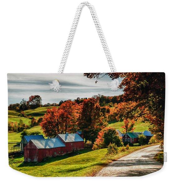 Wandering Down The Road Weekender Tote Bag