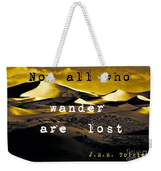 Wanderlust Weekender Tote Bag