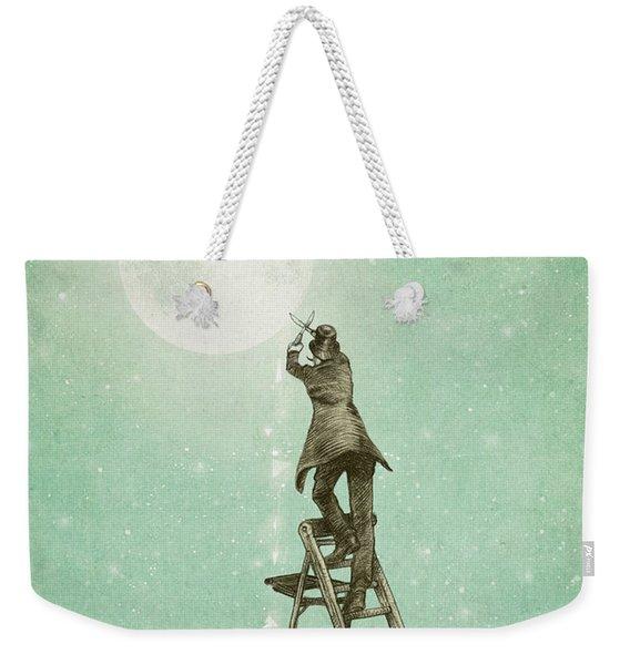 Waning Moon Weekender Tote Bag