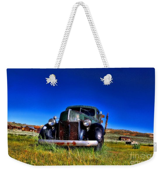 Wanna Ride - Bodie Ghost Town By Diana Sainz Weekender Tote Bag