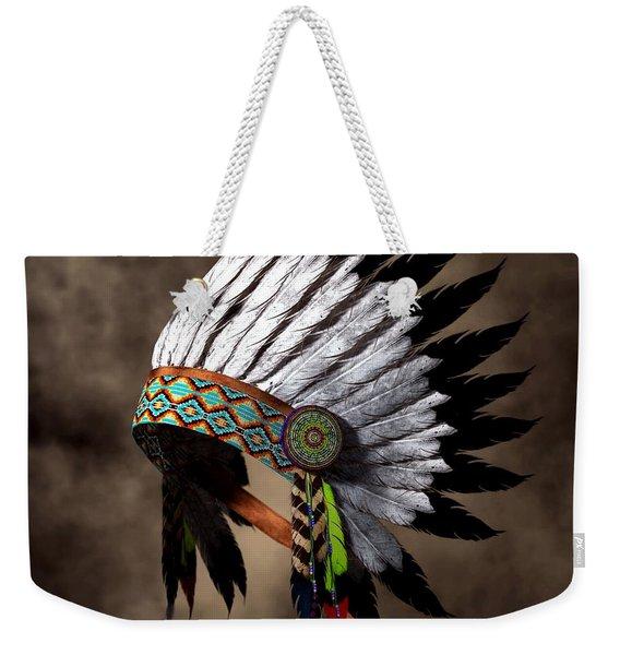 War Bonnet Weekender Tote Bag