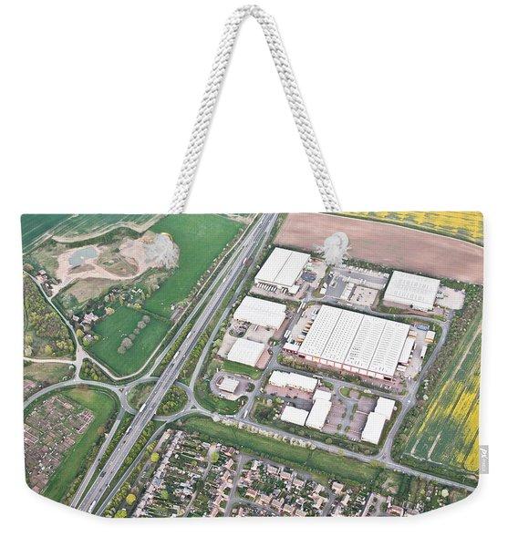 Warehouses Weekender Tote Bag
