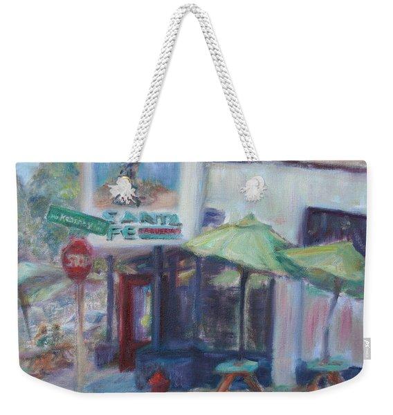 Warm Afternoon In The City  Weekender Tote Bag