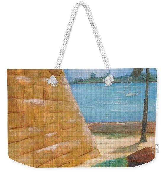 Warm Days In St. Augustine Weekender Tote Bag