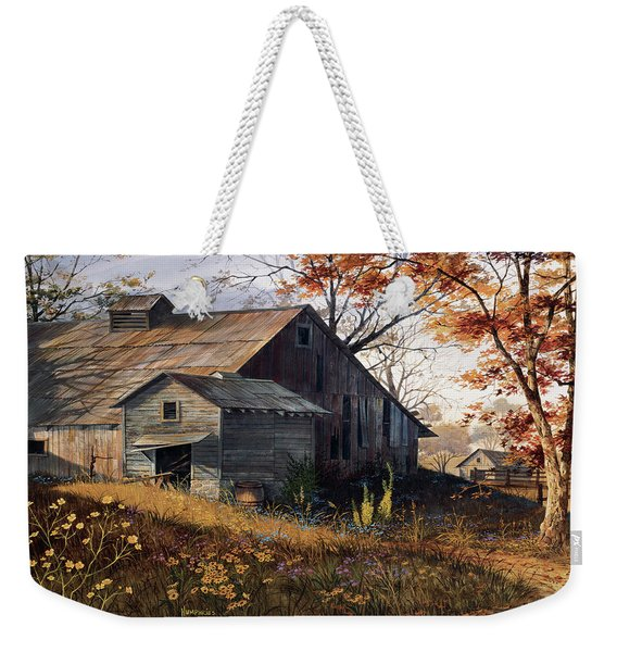 Warm Memories Weekender Tote Bag