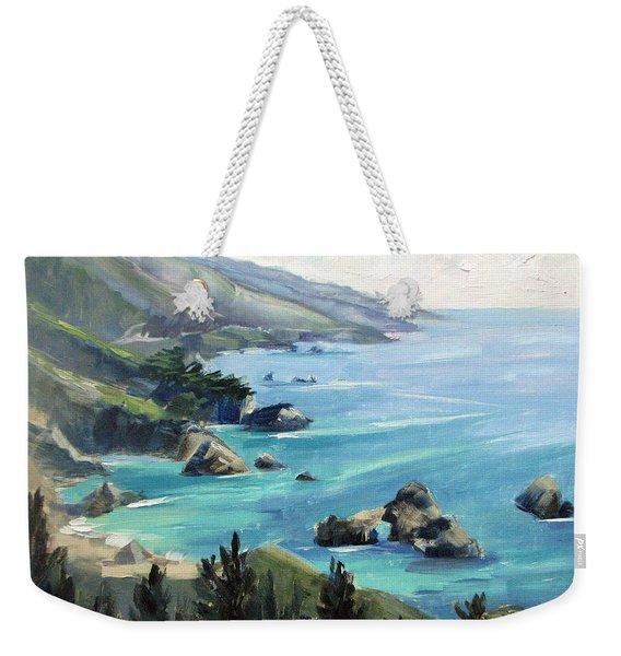 Warm Winter Day Big Sur Weekender Tote Bag