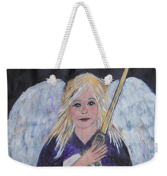 Warrior Angel Weekender Tote Bag