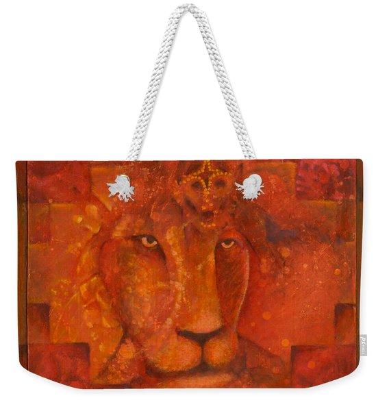 Warrior King Weekender Tote Bag