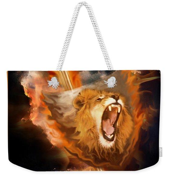 Warrior's Heart Weekender Tote Bag