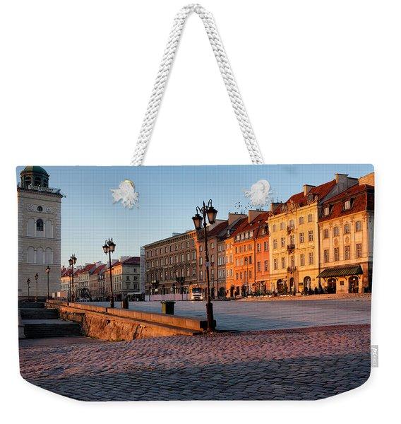 Warsaw At Sunrise Weekender Tote Bag