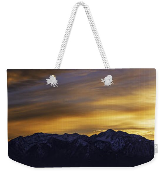 Wasatch Dawn Weekender Tote Bag