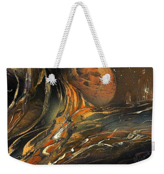 Washed Away Weekender Tote Bag