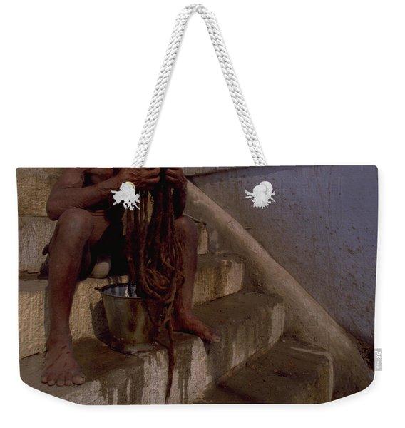 Varanasi Hair Wash Weekender Tote Bag
