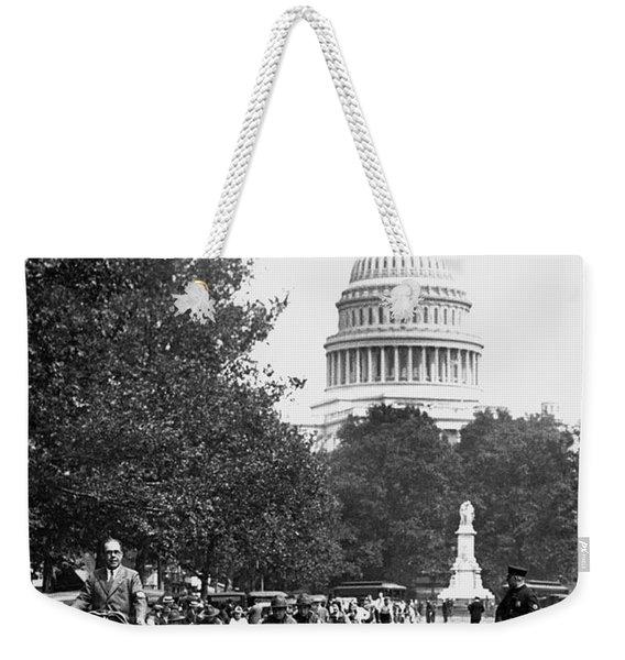 Washington Bicycle Parade Weekender Tote Bag