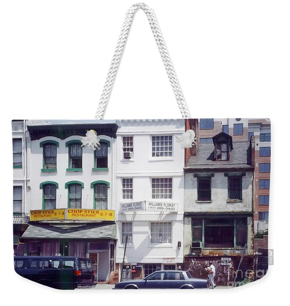 Washington Chinatown In The 1980s Weekender Tote Bag