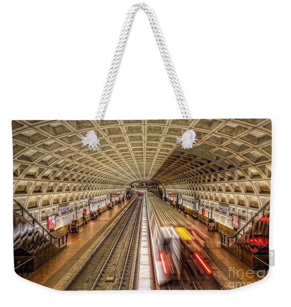 Washington Dc Metro Station Xi Weekender Tote Bag