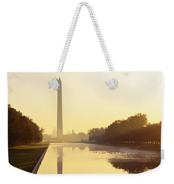 Washington Monument Washington Dc Weekender Tote Bag