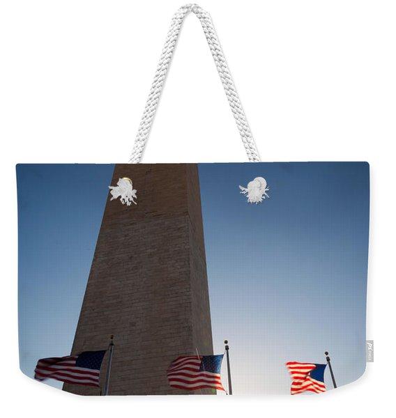Washington Sunburst Weekender Tote Bag