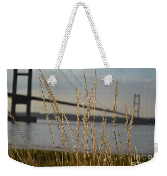 Weekender Tote Bag featuring the photograph Wasting Time By The Humber by Scott Lyons
