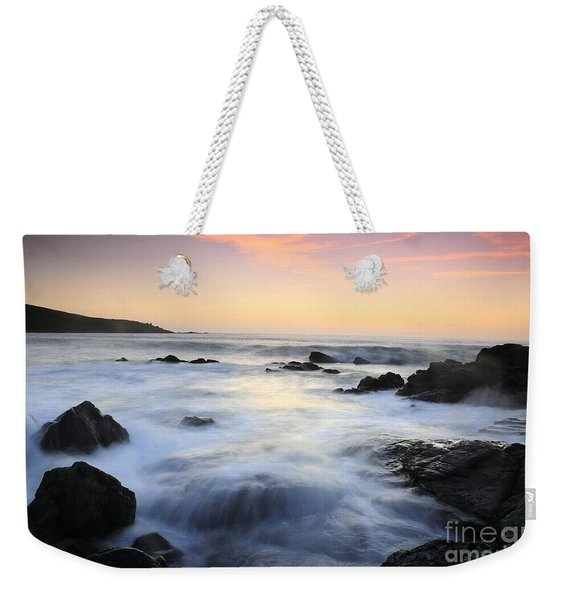 Water And The Sunset Weekender Tote Bag