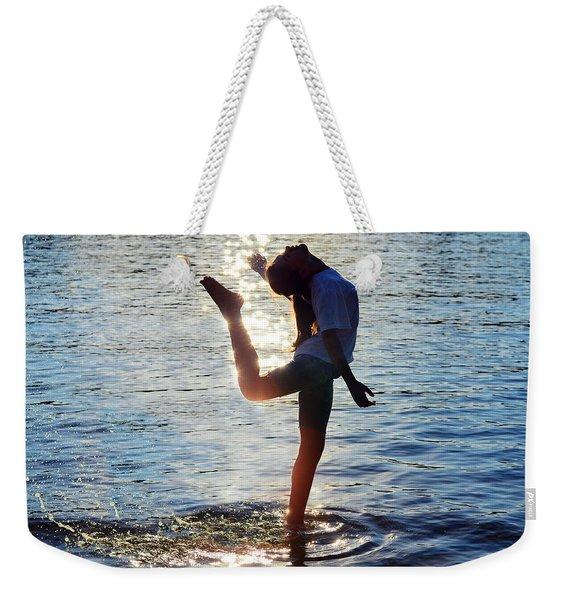 Water Dancer Weekender Tote Bag