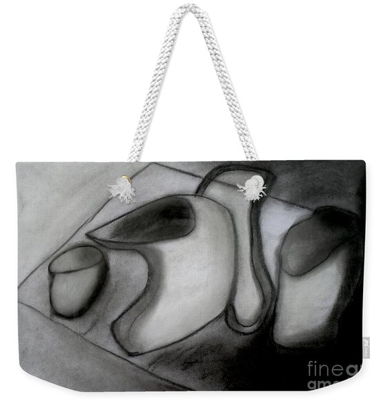 Water Pitcher And Cups Weekender Tote Bag