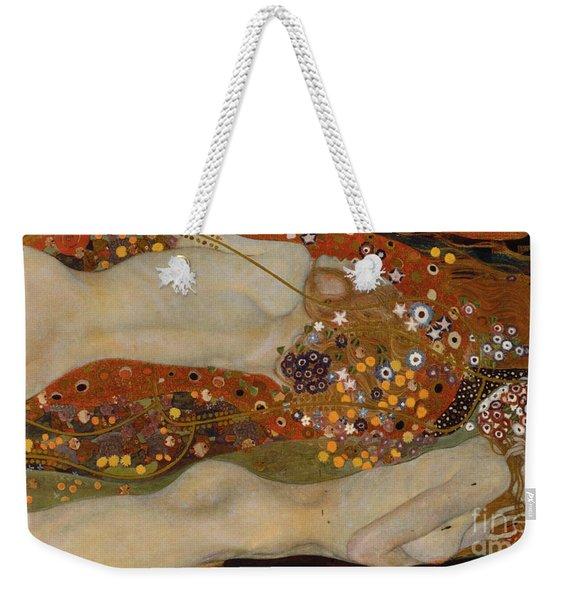 Water Serpents II Weekender Tote Bag