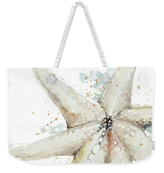 Water Starfish Weekender Tote Bag