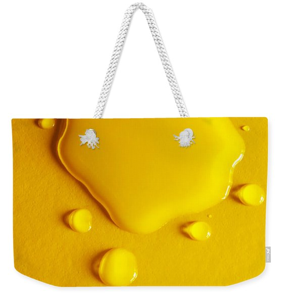 Water Thought Bubbles Weekender Tote Bag