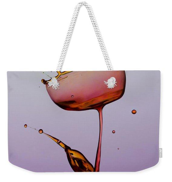Water Tulip Weekender Tote Bag