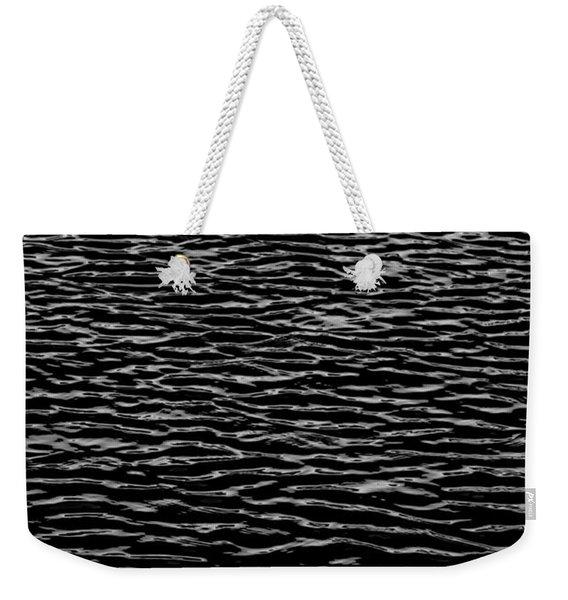 Water Wave Texture Weekender Tote Bag