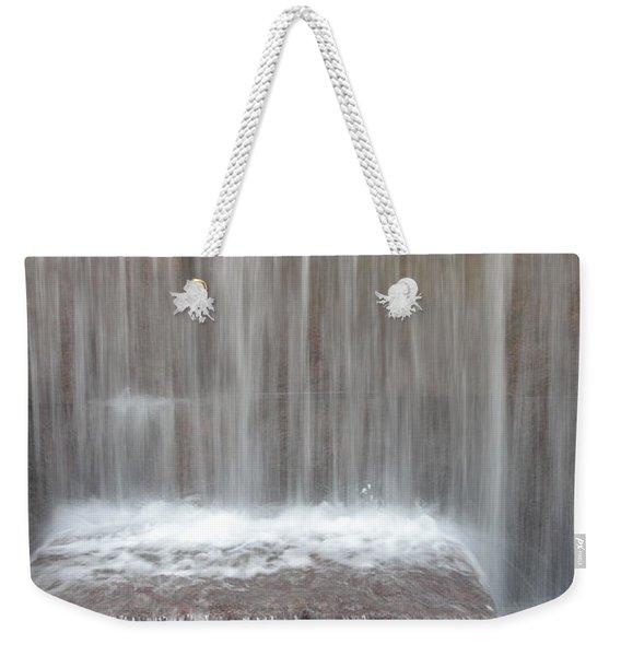Waterfall At The Fdr Memorial In Washington Dc Weekender Tote Bag