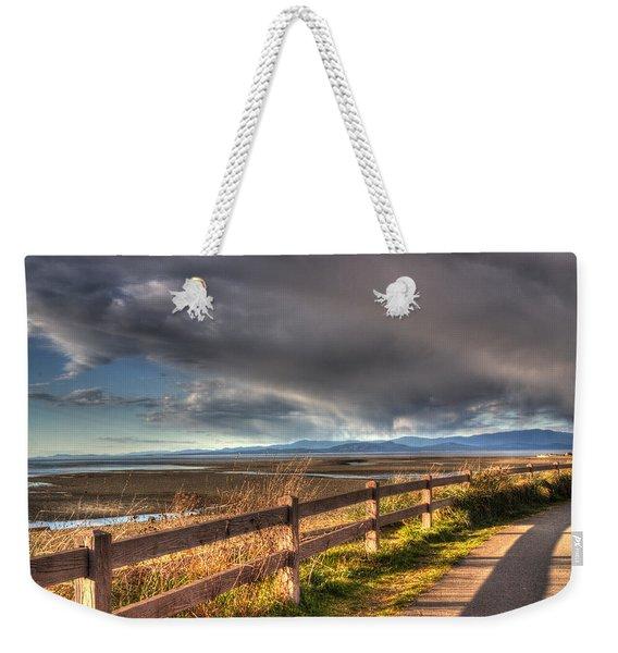 Waterfront Walkway Weekender Tote Bag