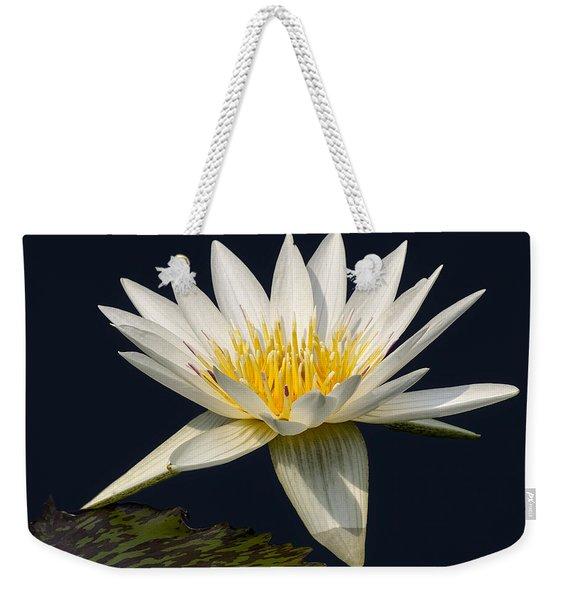 Waterlily And Pad Weekender Tote Bag