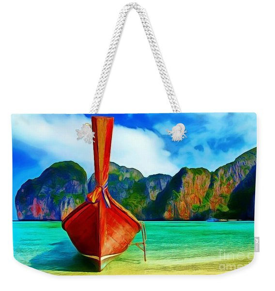 Watermarked-a Dreamy Version Collection Weekender Tote Bag