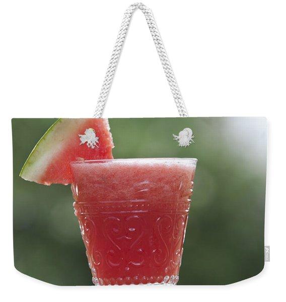 Watermelon Smoothie  Weekender Tote Bag