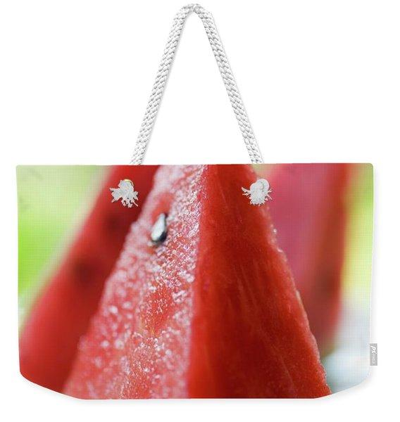 Watermelon Wedges Weekender Tote Bag