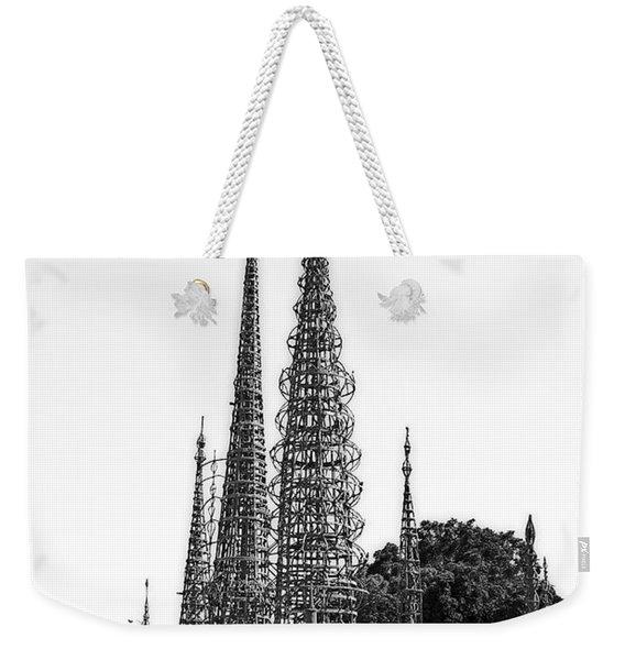 Watts Towers Weekender Tote Bag