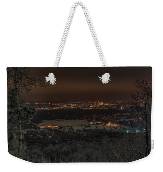 Wausau From On High Weekender Tote Bag