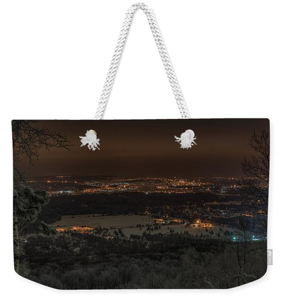 Wausau From On High Weekender Tote Bag