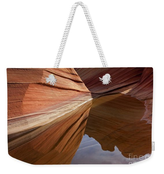 Wave Reflections Weekender Tote Bag