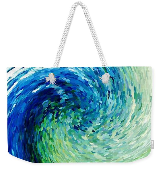 Wave To Van Gogh Weekender Tote Bag